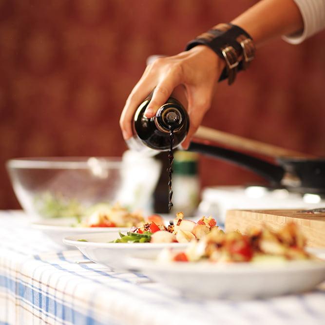Zubereitung-Salat