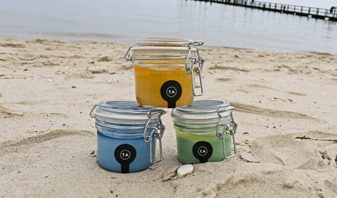 Badeanstalten Salzpeeling Gurke Minze