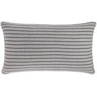 care by me Stripe Pillow Kissen 40x70 lightgrey/smoke pearl