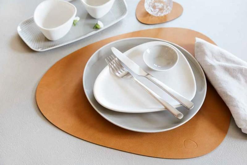 LindDNA Table Mats aus recyceltem Leder