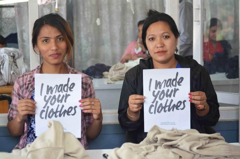 I made your cloths