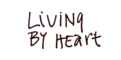 Logo: Living by Heart