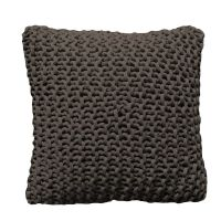 care by me Tube Pillow 50x50 Smoke 100% Bio-Baumwolle
