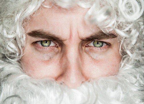 Nikolaus-Gesicht