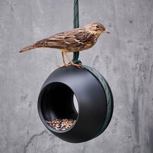 Vogel-Futterstation mit Stil von Rosendahl